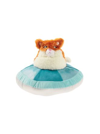 Space Cat Novelty Cushion