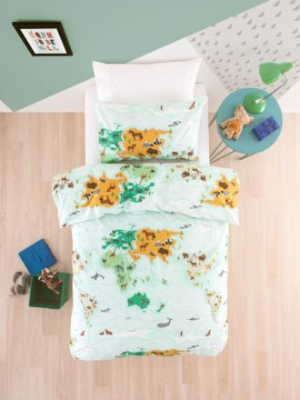 Mapped Out Duvet Cover Set