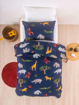 Origami Safari Duvet Cover Set
