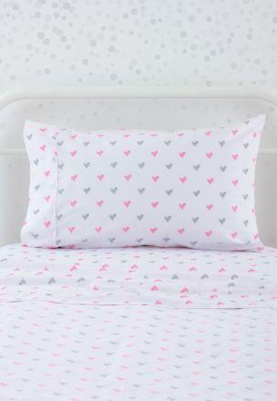 Sweet Heart Flat Sheet