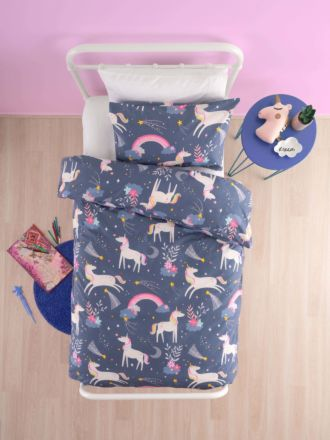 Unicorn Dreams Duvet Cover Set
