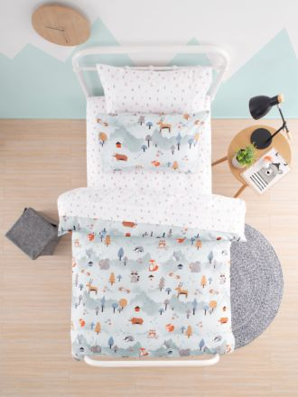 Woodland Friends Duvet Cover Set