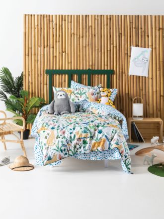 The Wild Jungle Duvet Cover Set
