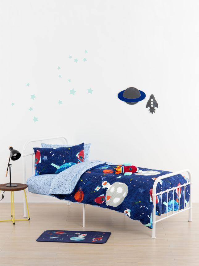 Moon Rocket Novelty Cushion