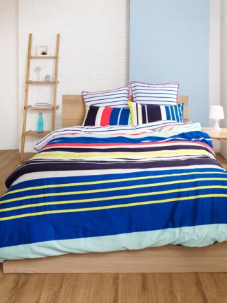 Zest Stripe Duvet Cover Set