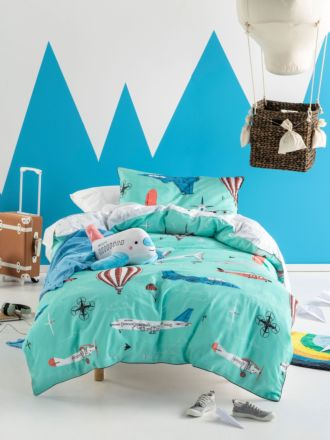 Fly With Me Duvet Cover Set