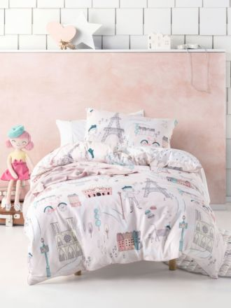 I Dream Of Paris Duvet Cover Set