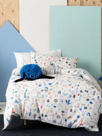 Little Monsters Duvet Cover Set