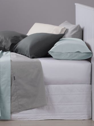 250T Cotton Fitted Sheet