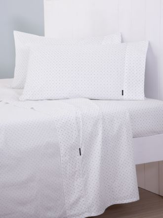 Dots Fitted Sheet