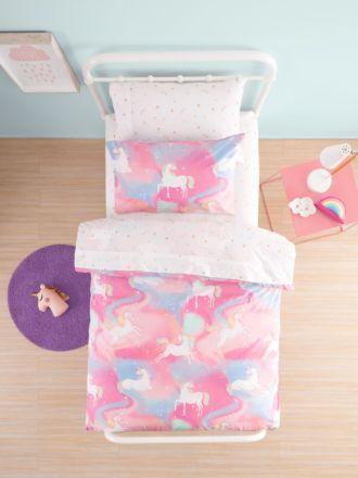 Dreamy Unicorns Duvet Cover Set