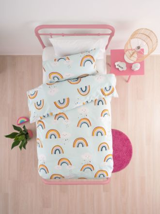 Rainbow Skies Duvet Cover Set