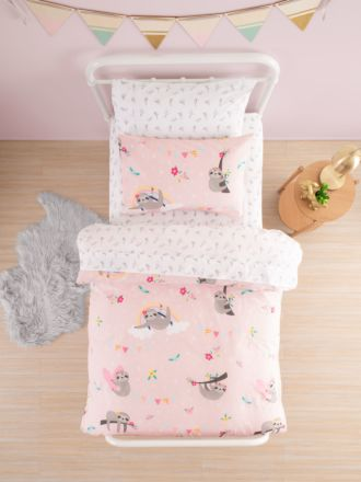 Slothing Around Duvet Cover Set