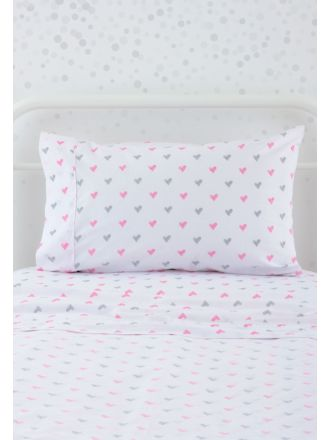 Sweet Heart Fitted Sheet