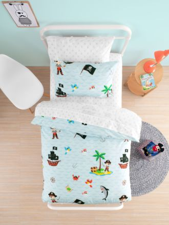 Walk The Plank Duvet Cover Set