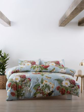 Native Flora Duvet Cover Set