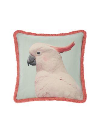 Parrot Cushion - 48 x 48cm