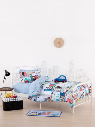 City Streets Duvet Cover Set