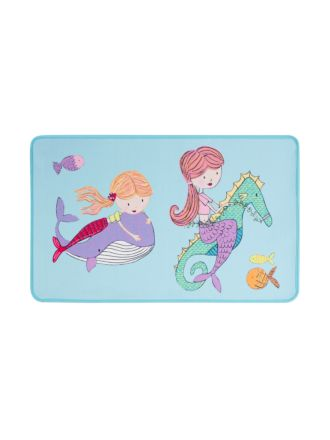 Mermaid Party Floor Mat