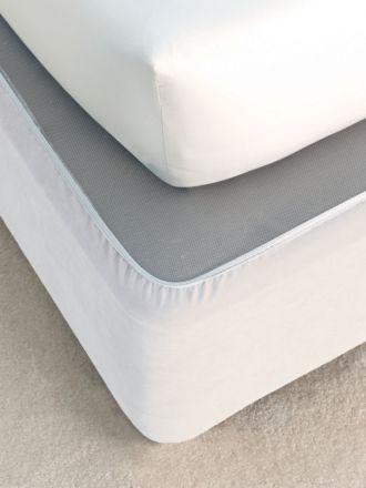 Plain Suede Bedwrap