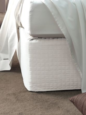 Quilted Suede Bedwrap