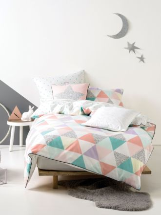 Astrid Quilted Duvet Cover Set