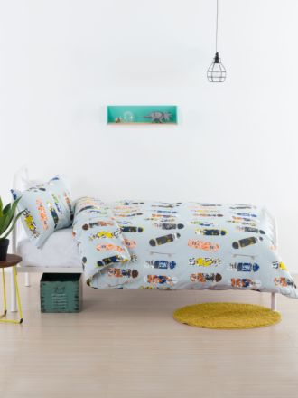Boardertown Duvet Cover Set