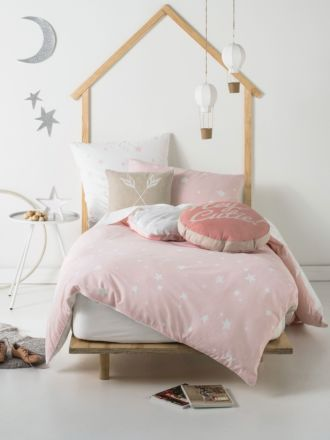 Stargazer Quilted Duvet Cover Set